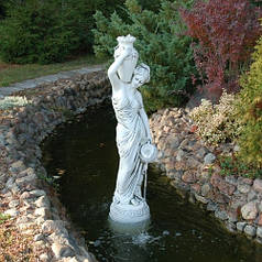 Скульптура садовая «Девушка с кувшинами»
