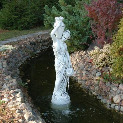 Скульптура садовая «Девушка с кувшинами», фото 2
