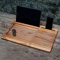 Подставка для iPad дерево