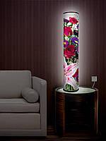 """Дизайнерский торшер-светильник 105 см """"Цветочный букет"""""""