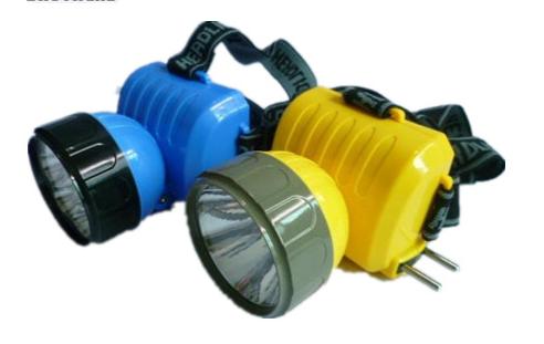 Налобный фонарь светодиодный аккумуляторный BH-508 7 LED склад 1 шт