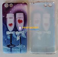 Чехол-бампер TPU силиконовый Prestigio MultiPhone PSP 3531 DUO Muze E3 рисунок 34