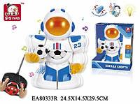 Робот Р\У  Звезда Спорта, звук, свет, на батарейках, в коробке