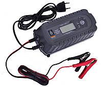 Зарядний пристрій імпульсне Auto Welle 05-1208 8А/12V/цифровий екран/Вибір типу АКБ