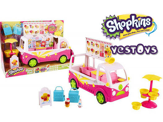 Shopkins S3  - Фургончик з морозивом (Игровой набор Shopkins S3 Фургончик с мороженым,  56035)