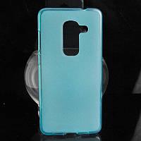 Wileyfox swift 2 (swift 2 plus) силиконовый чехол бампер голубой в наличии