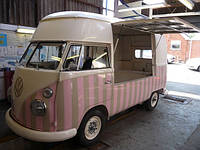 Мини Фуд Трак на основе микроавтобуса