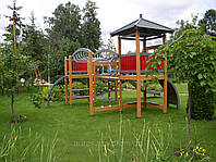 Игровые детские площадки, спортивные площадки, развлекательные комплексы для детей