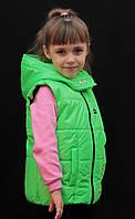 Детская жилетка на синтепоне, фото 1