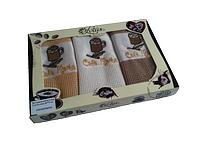 Набор кухонных полотенец Lotus - Coffee