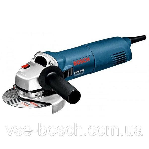 Угловая шлифмашина (болгарка) Bosch GWS 1000, 0601821800