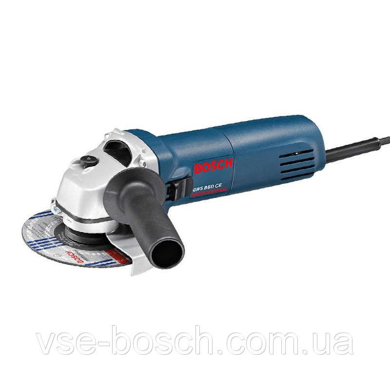 125 Угловая шлиф. машина (болгарка) Bosch GWS 850 CE, 0601378790
