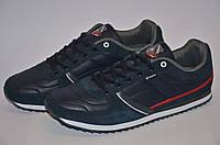 Кожаные мужские кроссовки Restime