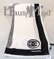 Женский брендовый палантин Chanel 11053 Белый