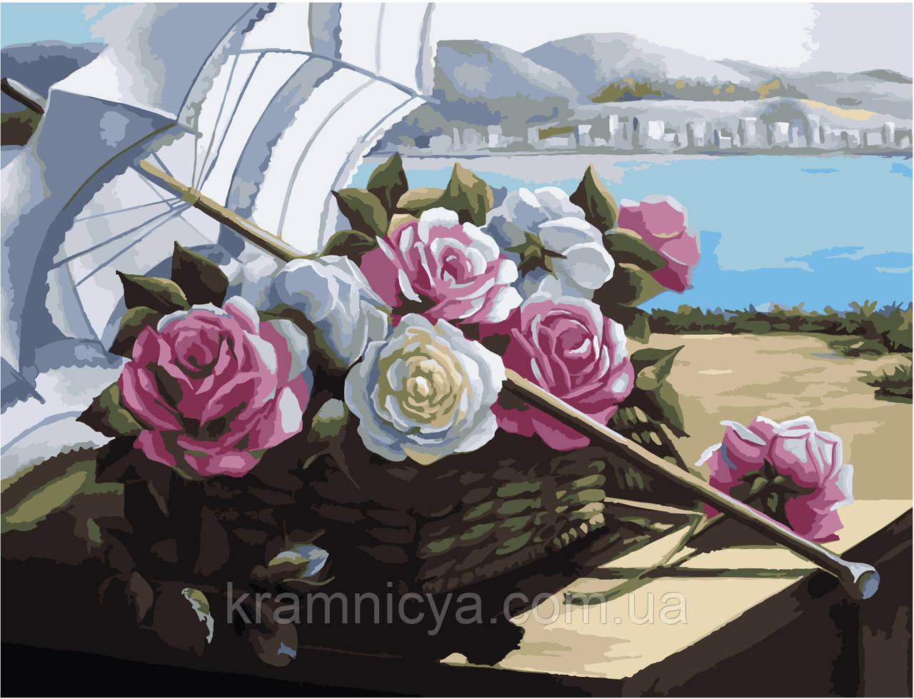 "Картина за номерами без упаковки 'Літня спека"", 40х50см (КНО2209)"