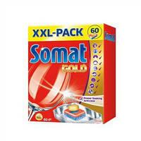 Таблетки для посудомоечных машин Somat Голд 60 шт.