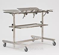 Стол ветеринарный хирургический нержавеющий СВХ-01
