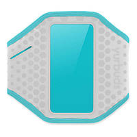 Спорт чехол YURBUDS iPhone 5C/5/5S/SE Ergosport Armband Gray/Aqua for women (YBWNARMB01GNA)
