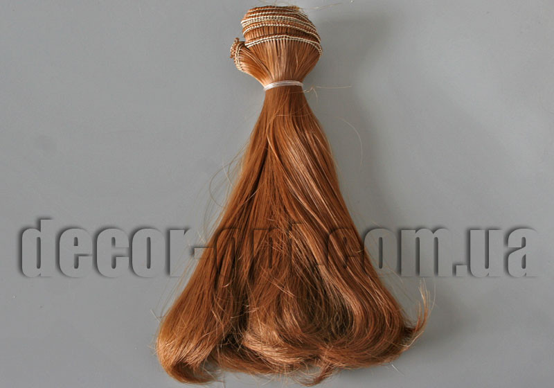 Волосы для кукол полузакрученные арт. 13 15см/~1м