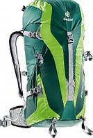 Классный спортивный рюкзак DEUTER Pace 30L SL 3300315 2225 цвет зеленый