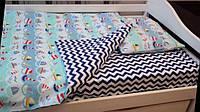 Набор детского постельного белья 3 в 1