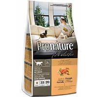 Pronature Holistic для котов с уткой и апельсином 5.44 кг