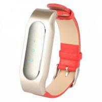 Ремешок для фитнес-браслета Mi Band Кожа Red Xiaomi