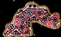Набор для вышивки бисером магнит Карта Украины Днепропетровская область