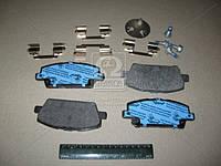 Колодка тормозная HONDA CIVIC, передний (производитель TRW) GDB3407