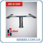 Автомобильный одностоечный плунжерный пневмогидравлический подъемник 3,5т SR-5135P SkyRack