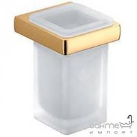 Аксессуары для ванной комнаты Colombo Design Стакан подвесной, золото Colombo Lulu B6202