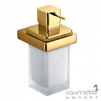 Аксессуары для ванной комнаты Colombo Design Дозатор для жидкого мыла подвесной, золото Colombo Lulu B9321