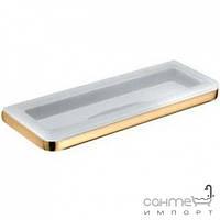 Аксессуары для ванной комнаты Colombo Design Полочка подвесная для ванны, золото Colombo Lulu B6203