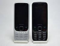 """Металический телефон Nokia 6303 + на 2 Sim с большим 2,8"""" экраном"""