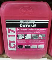Глубокопроникающая грунтовка Ceresit CT17 (Церезит СТ17) канистра 5 л., фото 1