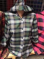 52061e42746 Рубашка женская в клетку в категории свитеры и кардиганы женские в ...