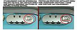 Чемодан из поликарбоната XXLС выдвижной ручкой и  кейсом L, фото 10