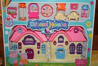 Игровой домик свинки Пеппы с мебелью