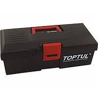 Ящик для инструмента 2 секции (пластик) 380x178x143мм TOPTUL TBAE0201