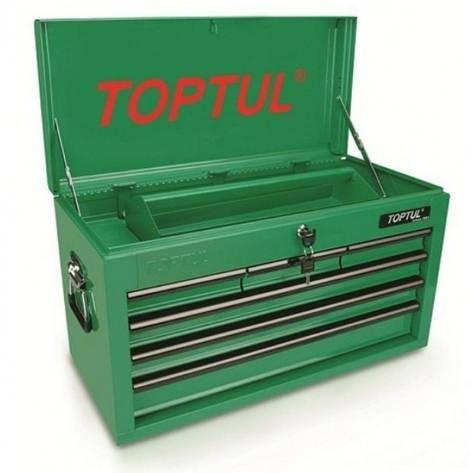 Ящик для инструмента 6 секций 660x307x378мм TOPTUL TBAA0601, фото 2