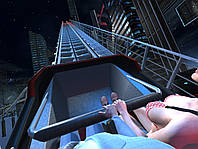 Oculus Rift Американские горки Limits 3_Roller Coaster_Skinet ( игры Oculus Rift DK2 / CV1 )
