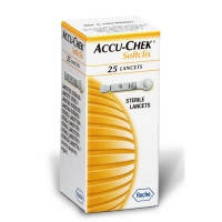 Ланцеты Акку-Чек (Accu-Chek) Софткликс, 25 шт.
