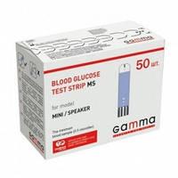 Тест-смужки GAMMA MS (50шт) Термін діїї до 06.2018