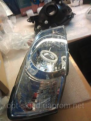 Комплект передних фар с биксеноновыми линзами G5 на Kia Ceed (Киа Сид)