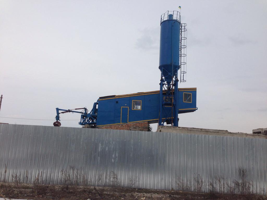 ПРБУ-200 (передвижной растворо-бетонный завод)