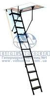 Чердачная лестница металлическая Oman Metal T3 размер короба 1,2x0,7м высота 280см