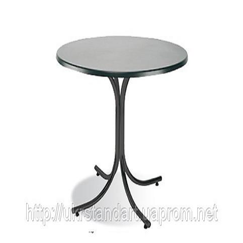 Високий столик Розана Хокер 110 блек (підстава)