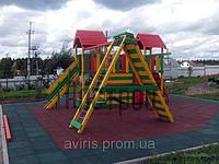 Резиновое покрытие для детских площадок Eco Standard