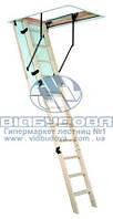 Чердачная лестница деревянная Oman Termo размер короба 1,3x0,7м высота 280см