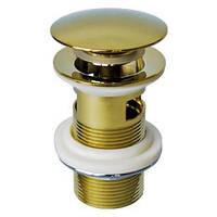 Донный клапан Welle С21031-AS золото